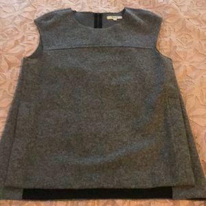 Madewell sleeveless wool top
